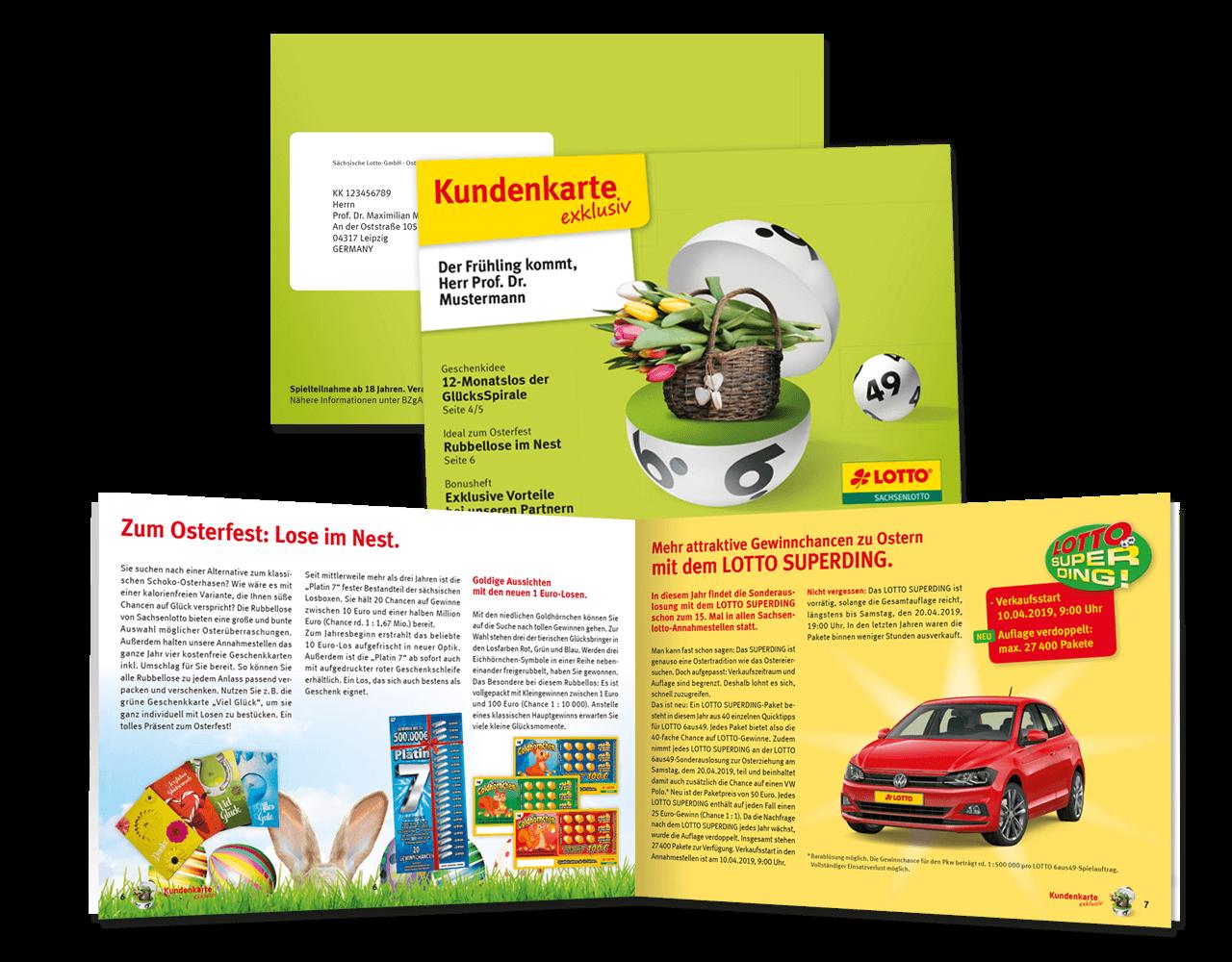 Saechsische Lotto Gmbh Kundenzeitschrift